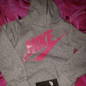 Nwt Nike Hoodie Sweatshirt Girls 4 4t